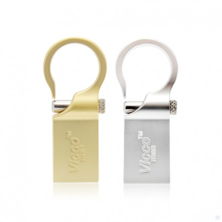 Viking man USB 2.0  VM266 16GB Gold جانبی